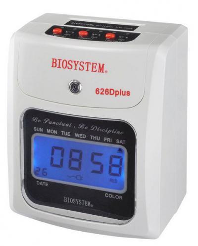 Biosystem 626d Plus Punch Card Time Recorder Clock Machine