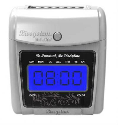 punch card clock machine