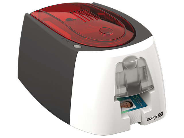 Simple Badgy 200 Id Card Printer Singapore