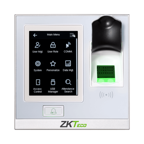 SF400 fingerprint touch screen door access controller