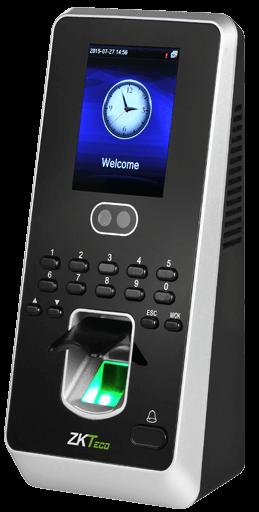 Multibio 800 Biometric Face Recognition Door Access Time