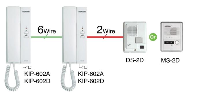 KDP602AD Diagram nmini2 door access kocom intercom wiring diagram at gsmx.co